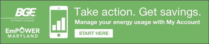 Keep track of your energy use. Receive high usage alerts.