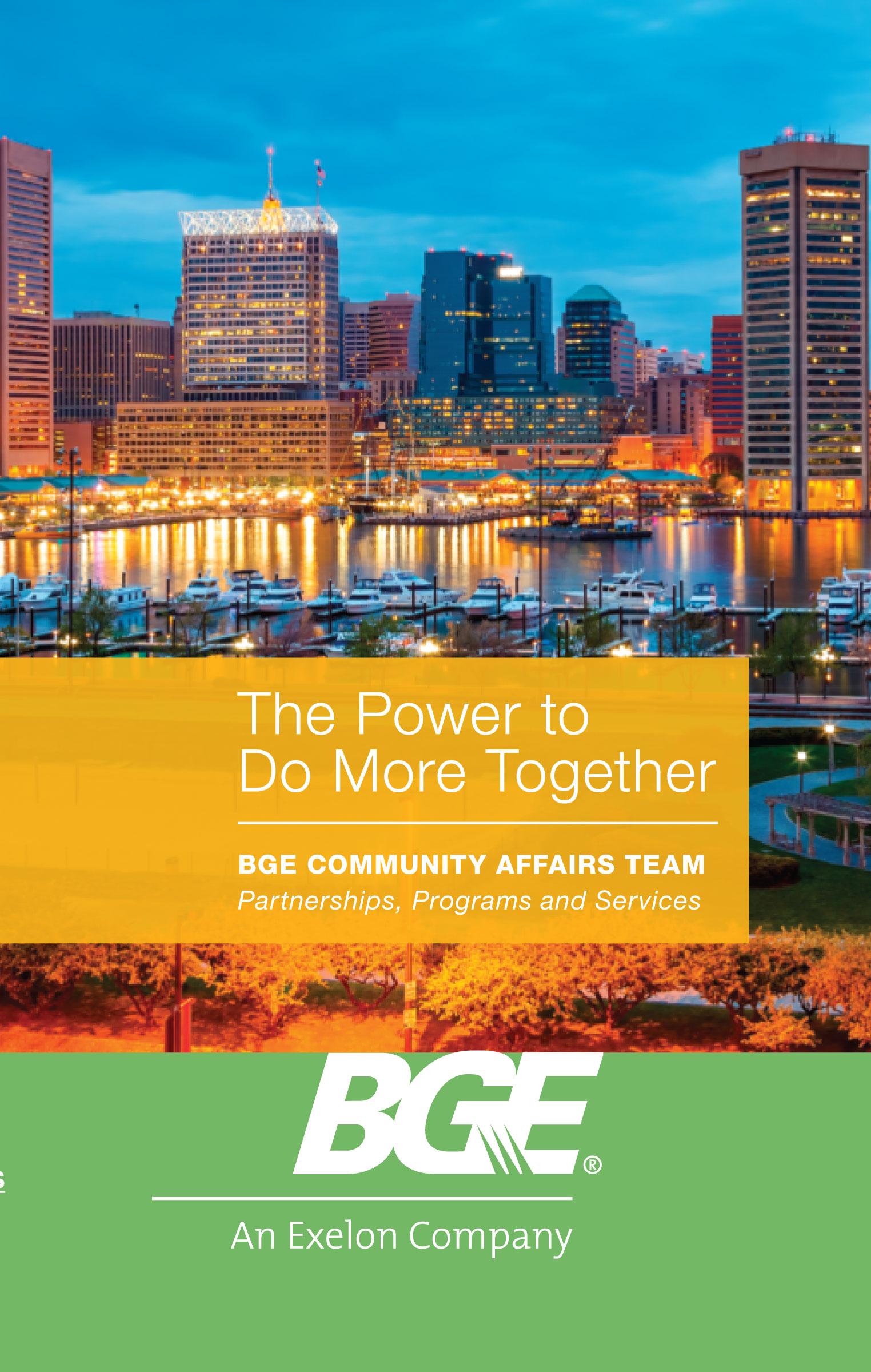 Community Events Calendar Baltimore Gas And Electric Company