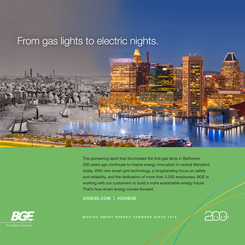 200th Anniversary Baltimore Gas And Electric Company