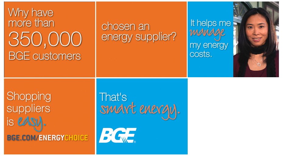 Energy Choice Baltimore Gas And Electric Company