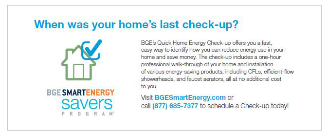 Understanding Your Home Energy Report Baltimore Gas And