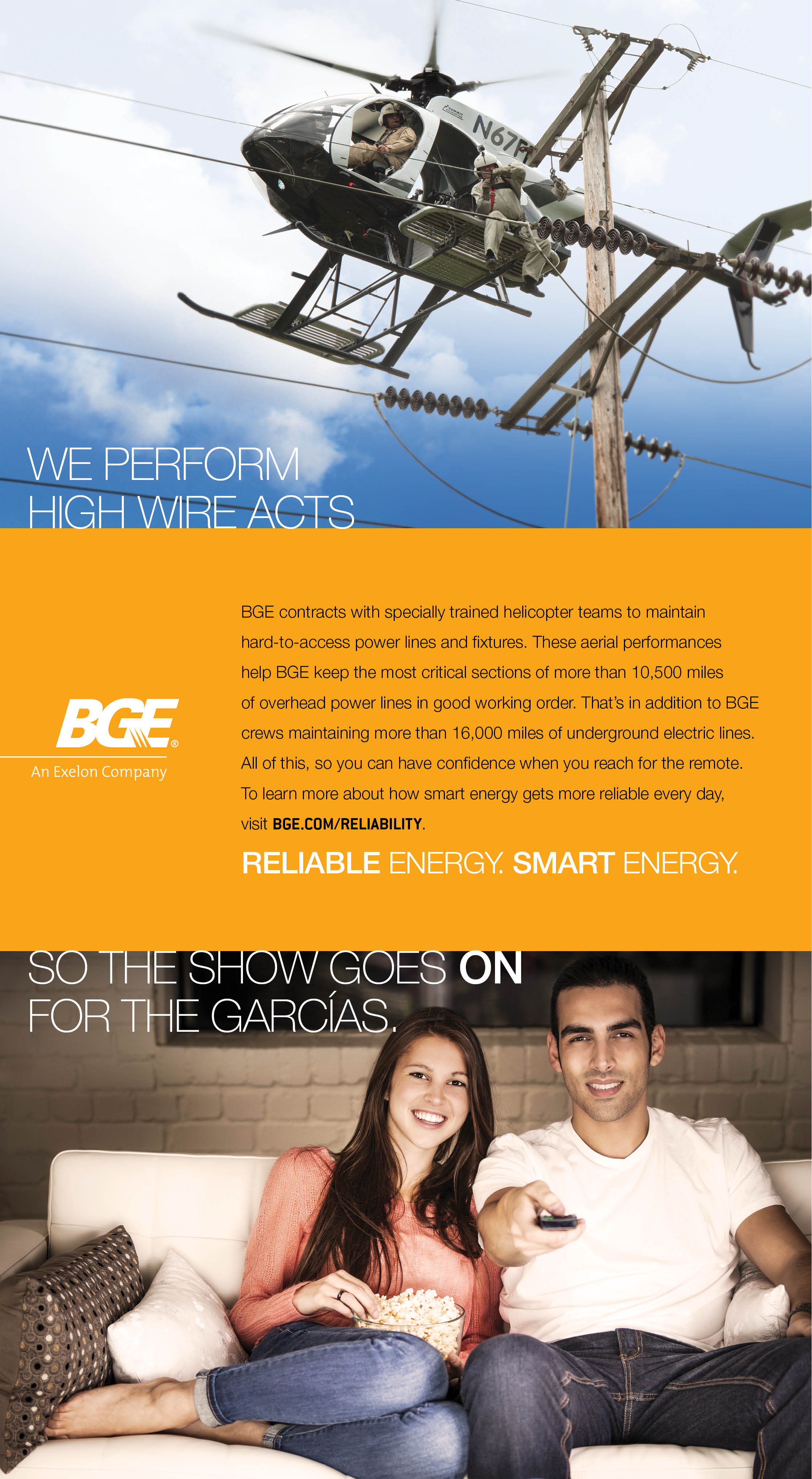 Reliability Baltimore Gas And Electric Company