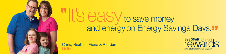 "Customer quote: ""It's easy to save money and energy on Energy Savings Days."""